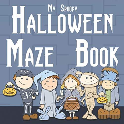 My Spooky Halloween Maze Book ()