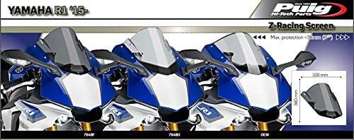 Bulle Racing pour Yamaha YZF-R1 2020 fum/é fonc/é Puig 3826f