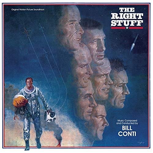 The Right Stuff - Original Motion Picture Soundtrack [Transparent Blue LP] (Warehouse-jungs)