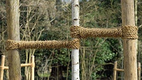 ca. 2 Kg ca. 50m GREEN24 2 KG Bund Kokos-Strick Kokosgarn f/ür Baumbindungen Kokosseil zum anbinden von B/äumen und Str/äuchern
