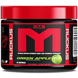 MTS Nutrition Machine Ruckus Green Apple