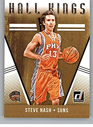 huge discount abb4b 68e07 Amazon.com: 2018-19 Donruss Hall Kings #20 Steve Nash ...