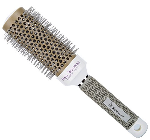 Minalo Anti Static Nano Ionic & Thermic Ceramic Hair Brush,Barrel Round,2 inch (Ceramic Hair Drying Brush compare prices)