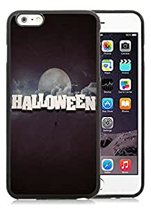 Customization iPhone 6 Plus Case,Halloween Black iPhone 6 Plus 5.5 TPU Case 19
