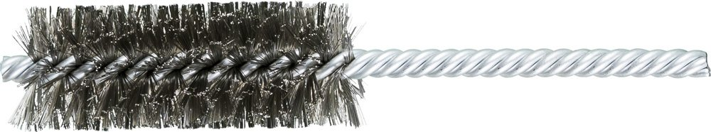 PFERD Inc. INOX Double Stem//Spiral.006 1 Diameter 1//4 Stem 2-1//2 Brush Part Length Double Stem//Spiral.006 Pack of 10 Pack of 10 PFERD 83449 SpyraKleen Tube Brush Stainless Steel Wire 1 Diameter 1//4 Stem 2-1//2 Brush Part Length