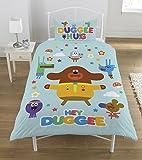 Hey Duggee Hello Squirrels Duvet Set, Polyester-cotton, Multi-colour, Single