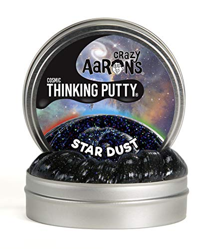 (Crazy Aaron's Thinking Putty, 3.2 Ounce, Cosmic Star Dust)