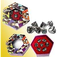 cosplay? Reborn! 7 estilos aleado juego de anillos