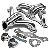 #9: Chevy Small Block V8 High Performance 4-1 Design 2pcs Stainless Steel Exhaust Header Kit