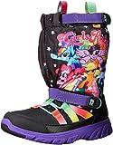 Stride Rite Made 2 Play Sneaker Winter Boot (Toddler/Little Kid), Black/Rainbow, 5.5 M US Toddler