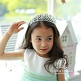 Generic The new d authentic Korean children flower girl headband baby hair accessories paternity Diamond diamond tiara crown tiara tiara hoop 13