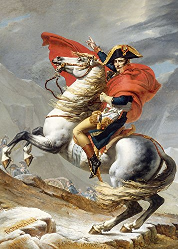Napoleon Crossing The Alps (David)