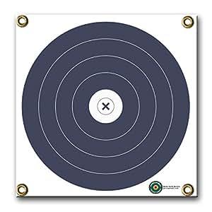 Amazon Com Arrowmat Self Sealing Blue Black Circle 17 Quot X