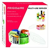 Frigidaire Multi Use Condiment Server with Cover Tea Sugar Candy Dried Fruits Nuts