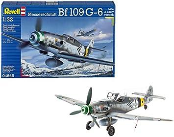 REVELL 1:32 04665 Messerschmitt Bf109 G-6 late /& early version Model Aircraft Ki