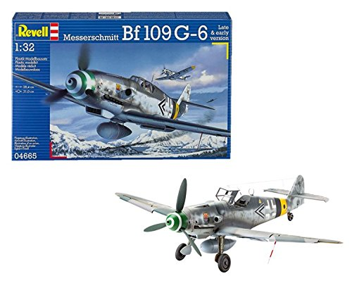 Revell of Germany Messerschmitt Bf109 G-6 Plastic Model Kit
