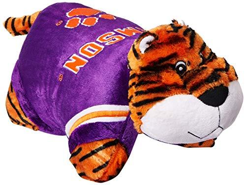 Fabrique Innovations NCAA Pillow Pet, Clemson Tigers