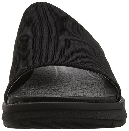Baretraps Womens Rebecca Slide Sandaal Zwarte Stretch