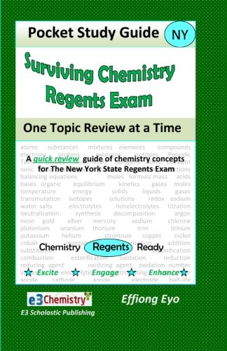 Surviving Chemistry Regents Exam: One Topic Review at a Time: Pocket Study Guide