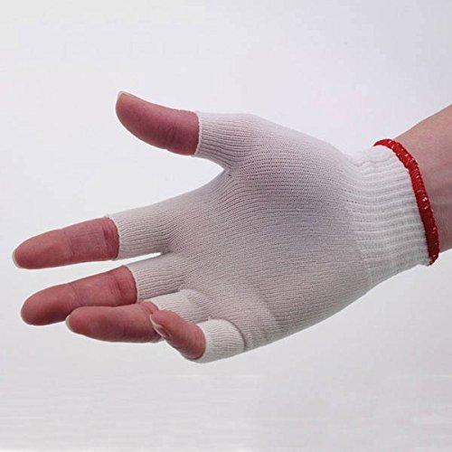 Half-Finger Glove Liners Men