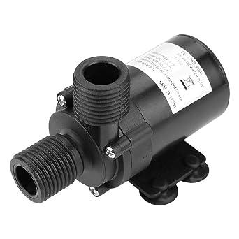 Mini Pompa per Acquario a Basso Rumore da 22W 1//2  Mini Pompa sommergibile per Acqua Calda Pompa 800L // H 5M per Industria ECC. Caredy Pompa Acqua Senza spazzole DC Ricerca scientifica