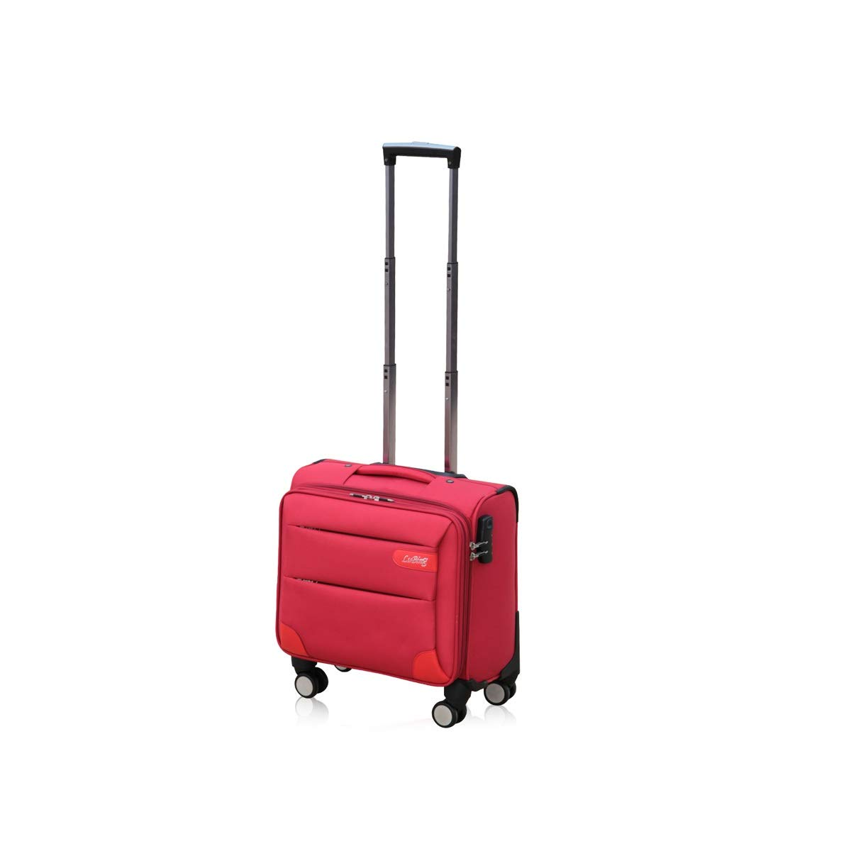 Trolley Case Color : Red, Size : 14 inches Boarding 8haowenju Soft Rotating Luggage Travel Storage Box 14//16//18//20 Inches Best Gift Carrying Luggage