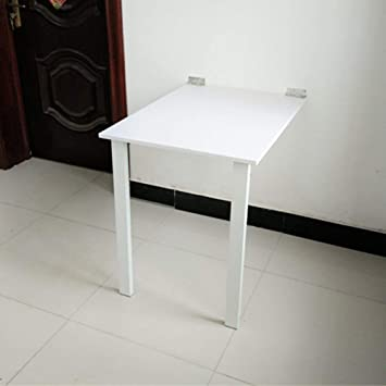 YueQiSong Mesa de Pared Plegable Mesa de Pared de Cocina Actividad ...
