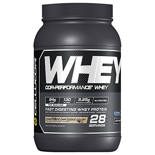 Cellucor Whey Protein Isolate & Concentrate Blend Powder with BCAA, Post Workout Recovery Drink, Gluten Free Low Carb Low Fat, Chocolate Chip Cookie Dough, 28 Servings ()