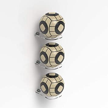 57c3f4f910d Plexico Pack of 3 Football Display Stand Ball Holder Signed Autographed  Holder  Amazon.co.uk  Sports   Outdoors