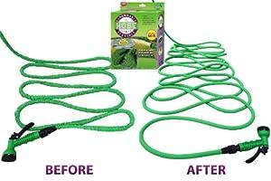 Amazoncom 1 Expandable Garden Water Hose Nozzle Combo