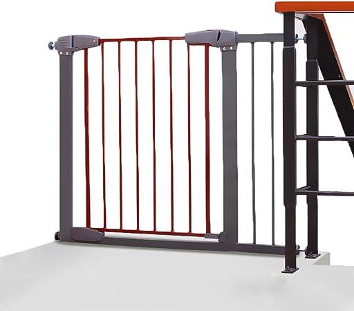 Barrera de seguridad La Extensión De La Seguridad Puerta Del Bebé 77-176cm, Ajuste A Presión De Seguridad Puerta De La Escalera For Puertas Escaleras Los Pasillos, Fácil De Instalar En Cualquier Lugar: