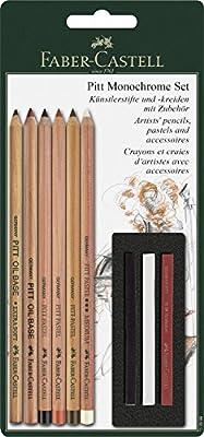 Faber Castell PITT Monochrome 9ct Classic Drawing Assortment
