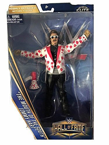 WWE Wrestling Elite Collection Hall of Fame Jimmy Mouth of the South Hart 6 Action Figure by WWE