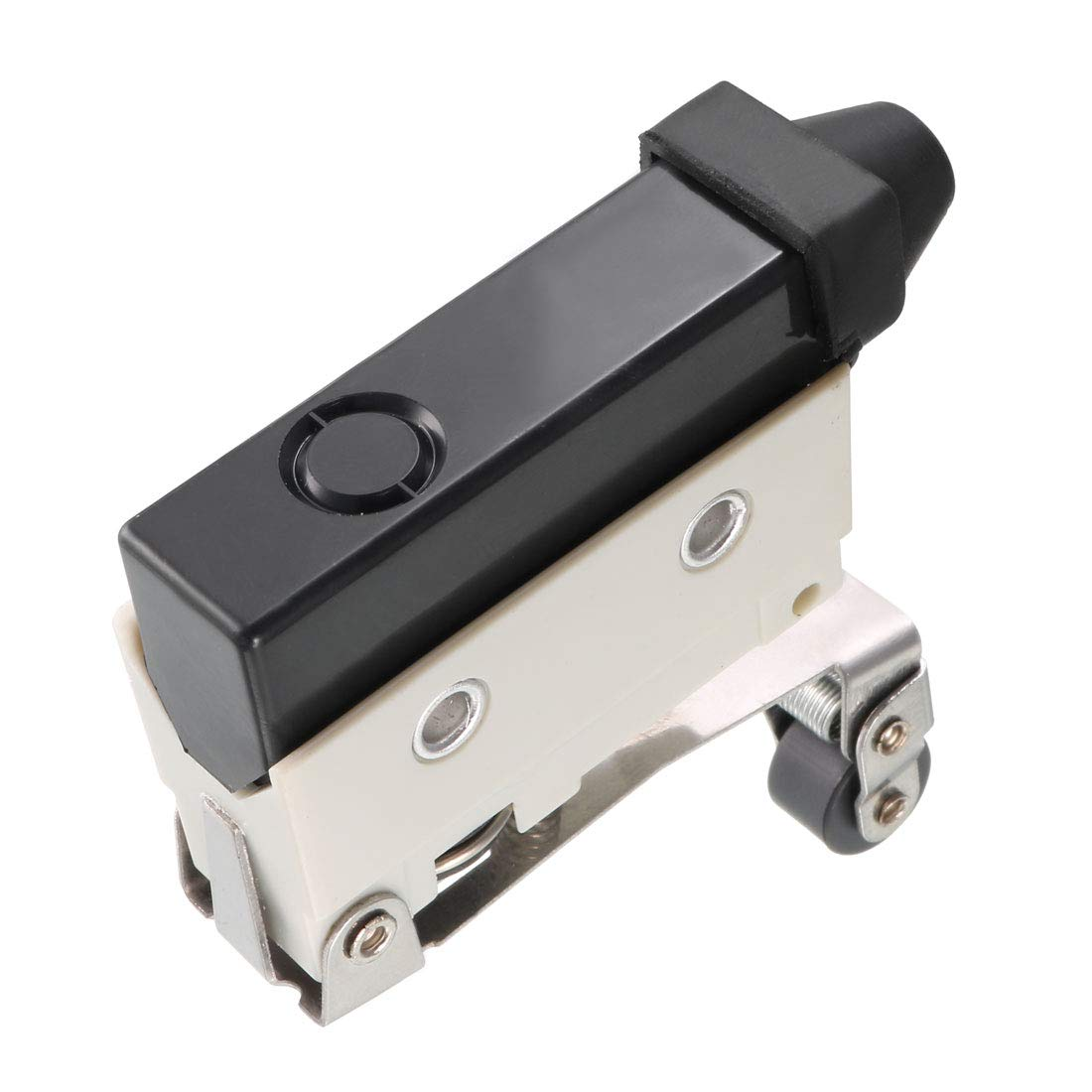 uxcell 2PCS AZ-7124 SPDT 1NO+1NC Long Hinge Roller Lever Type Momentary Micro Limit Switch