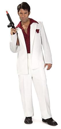 Amazon Com Sales4ya Adult Costume Tony Montana Scarface Halloween
