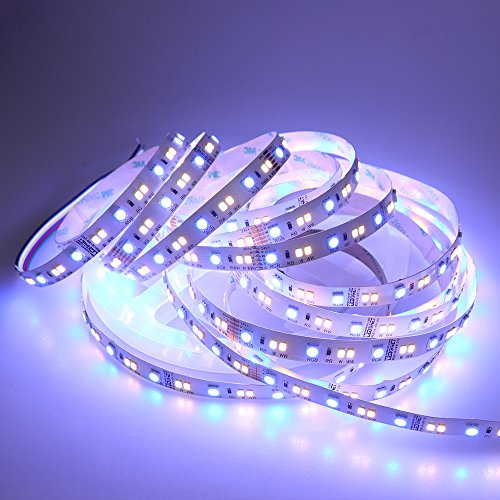 LEDENET RGB+W+WW Flexible LED Strip Lighting Full Color Changing Color Temperature Adjustable Cold White Warm White CCT RGB LED Tape Ribbon Lamp 5m 16.4ft Long Non-waterproof