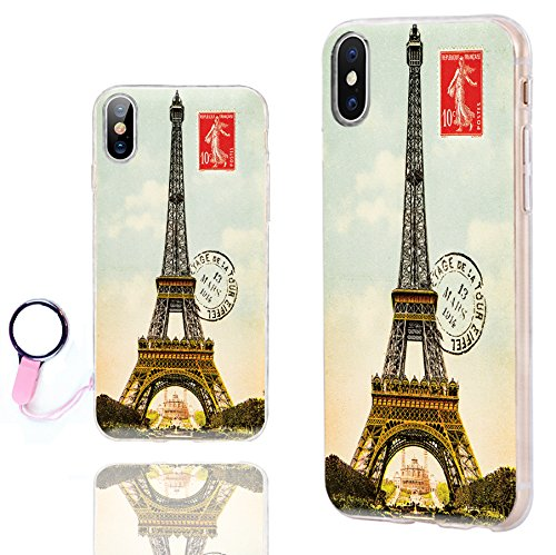 brand new 19184 b8e31 iPhone Xs Max Case Cute,ChiChiC 360 Full Protective Shockproof Thin Slim  Flexible Soft TPU Clear Case Cover with Cool Design for iPhone Xs Max 6.5,  ...