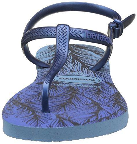 Bleu Lavender Blue Femme Sandales Freedom Print Havaianas 0apq7Cy
