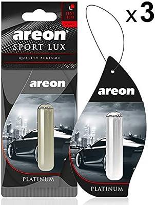 Amazon.es: AREON Liquido Ambientador Coche Platino Perfume Casa ...