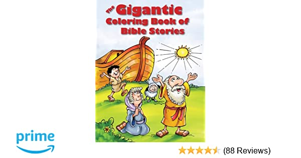 Amazon.com: The Gigantic Coloring Book of Bible Stories ...