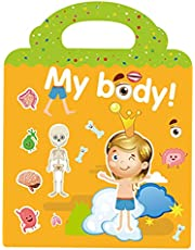 Colcolo Gör-det-själv återanvändbara barnklistermärken bok barn pussel spel aktivitet pedagogiska leksaker