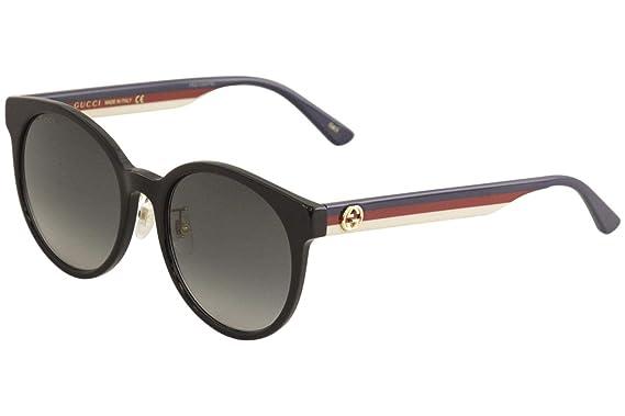 d6bc5db0d6 Amazon.com  Sunglasses Gucci GG 0416 SK- 001 BLACK GREY MULTICOLOR ...