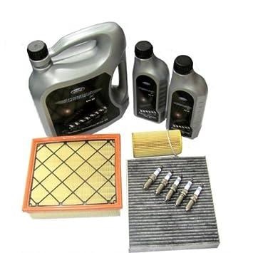 Genuine Ford Focus 2,5 ST225 St Servicio completo Kit Inc RS Bujías Upgrade.: Amazon.es: Coche y moto