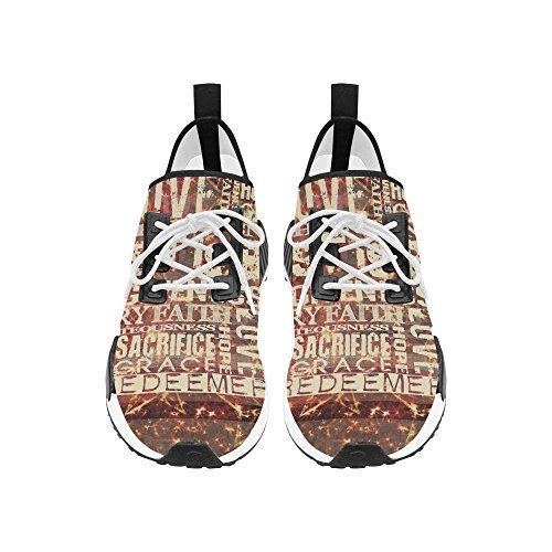 Man Ademende Schoenen Antislip Sneaker Voor Wolfsontwerp 3