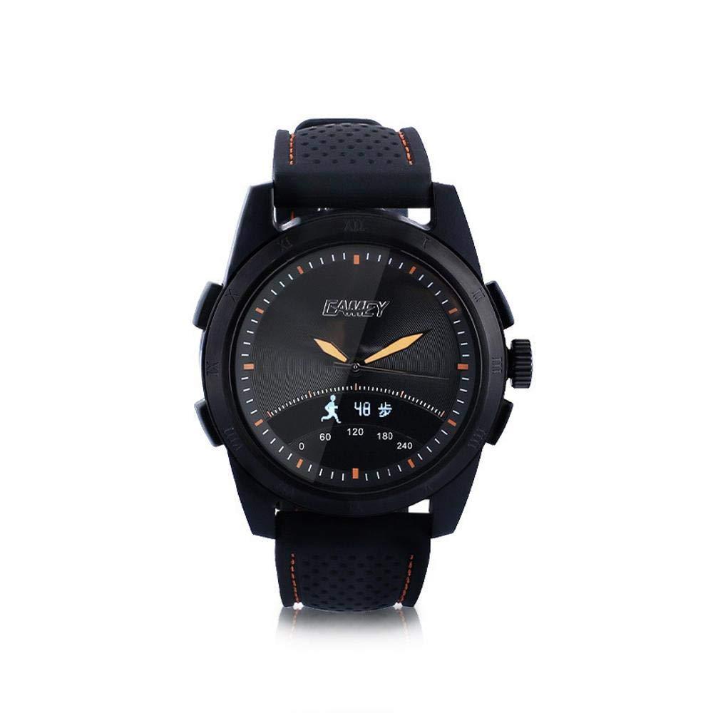 Ambiguity Fitness-Armband,Konforme Remote Quarzuhr mit smart-Armband Schwimmen Aufruf Informationen Alarm Screen elektronische Uhr