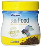 Aqueon Betta Food Pellets, 0.95-Ounce