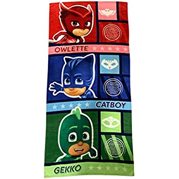 PJ Masks Beach Towel 28 x 58
