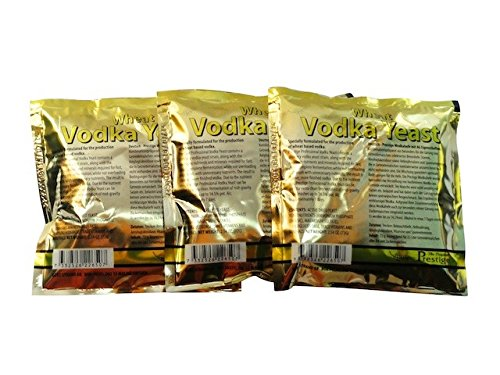 'Prestige' Turbohefe Vodka mit AG