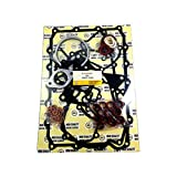 Compatible with Full Gasket Set Joint 657-33390 For Lister Petter TX3 3 Cylinder