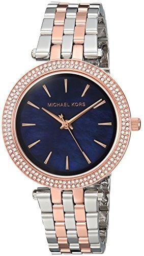 (Michael Kors Women's Mini Darci Silver-Tone Watch MK3651)